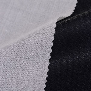 92GSM Cotton Fabric Fusible Shirt Collar Fusing Interlining Garment Accessory pictures & photos