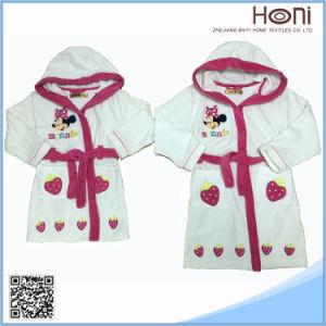 Newest Design Wholesale Bathrobe Sleepwear Homewear Set for Kids pictures & photos
