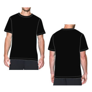 Best Selling Anti Bacterial Gym Shirt Wholesale pictures & photos