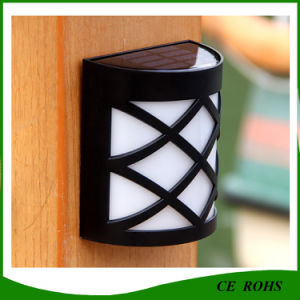 6LED Solar Garden LED Outdoor Fence Yard Light pictures & photos