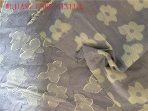 Silk /Cotton Jacquard Fabric, Silk Cotton Clip Fabric, pictures & photos