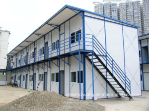 Worker Accommodation Prefab House From Wenchuang