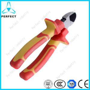 VDE 1000V Insulated Diagonal Cutting Plier pictures & photos