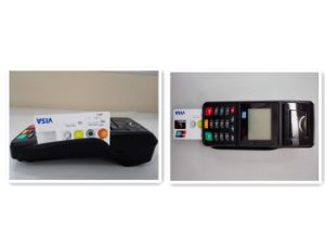 EMV IC Card Reader Wireless Financial POS Terminal Card Skimmer pictures & photos