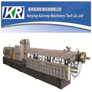 New High Capacity Plastic Twin Screw Double Screw Extruder pictures & photos