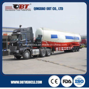 3 Axle 40 Cbm Bulk Cement Tank Truck Trailer pictures & photos