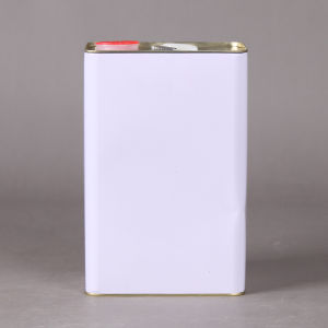 5L Square Metal Tin Can with Screw Top and Plastic Handle for Oil pictures & photos
