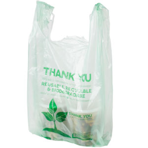 Custom Printed Plastic T-Shirt Bags for Shopping pictures & photos