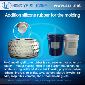Free Silicone Rubber Sample Tyre Molds RTV Silicone Rubber pictures & photos
