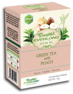 Peach Flavored Green Tea Pyramid Tea Bag Premium Blends Organic & EU Compliant (FTB1507) pictures & photos