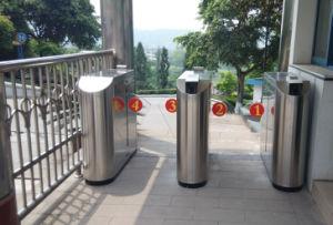 900mm Passageway Width Safety Pedestrian Access 2 Flaps Barrier Turnstile pictures & photos