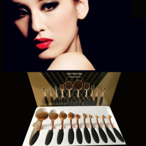 2016 Global Popular Style Toothbrush Oval Makeup Brush pictures & photos