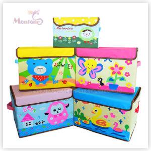 Carton Household Foldable Non Woven Fabric Storage Box pictures & photos