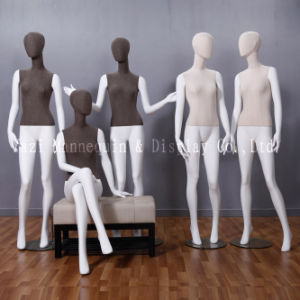 Fiberglass Female Mannequin, Fabric Wrapped Mannequin From Guangzhou pictures & photos