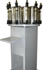 Manual Stainless Steel Canisters Color Matching Machine with Jy-20b3 pictures & photos