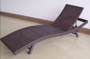 Patio Concise Wicker Recliner Lounger Furniture pictures & photos