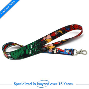 High Quality China Factory Price Customized Logo Printed Lanyard for Company Publicity pictures & photos