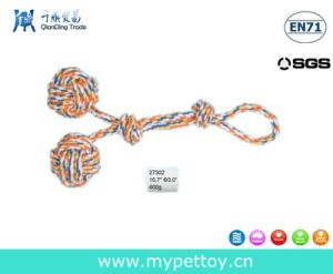 Knotted Balls Dog Toy Cotton Rope Toy pictures & photos