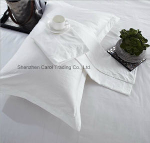 High Quality Bleached White Hotel Bed Linen Hotel Bedding Set pictures & photos