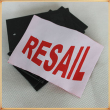 Hotest Sale Printed Clothing Label with Fashion Design