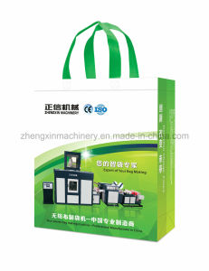 Primary Shaping Non Woven Reusable Bag Making Machine (Zx-Lt400) pictures & photos