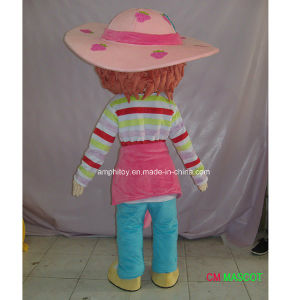 Factroy Sale Cartoon Character Mascot Costume Strawberry Shortcake Girl pictures & photos