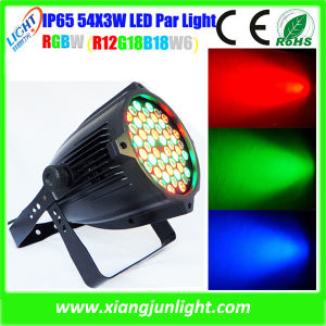 Outdoor Waterproof LED 54X3w LED PAR Can Light pictures & photos