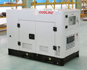 Factory Price 10kVA Water Cooled Silent Diesel Generator (YD380D) (GDY10*S) pictures & photos