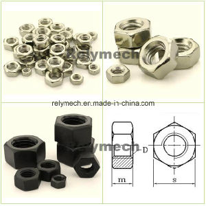 Stainless Steel/Carbon Steel/Nylon/PC Transparent/Brass Hex Nut/Lock Nut/Hex Lock Nut pictures & photos