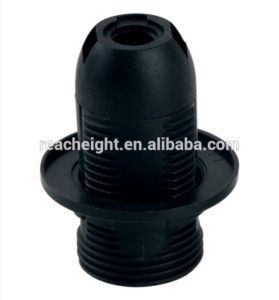 E14 Plastic Lamp Holder with Shade Ring pictures & photos