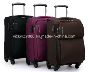 High Quality Waterproof Wheeled Trolley Luggage Travel Case Bag (CY3396) pictures & photos