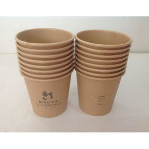 4oz to 24oz Disposable Brown Kraft Paper Hot Cups pictures & photos