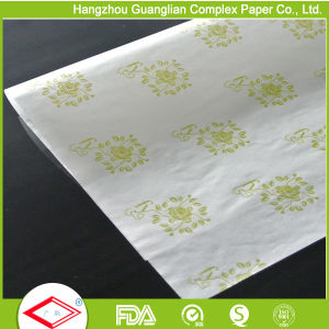 Custom Siliconized 1 Colour Printed Parchment Paper for Baking pictures & photos