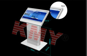 Multi Media System Dual Screen Kiosk with Saw Touch Screem pictures & photos