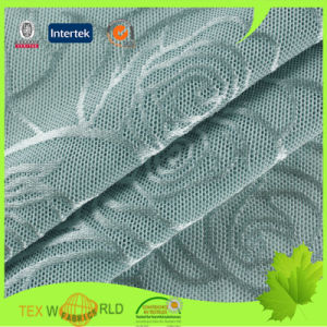Nylon and Spandex Elastic Jacquard Mesh Fabric (NEQ222-140)