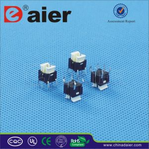 Momentary Push Button Tact Switch, Illuminated Tactile Switch (TSL06122) pictures & photos