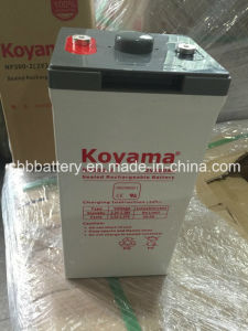 2V Stationary Lead Acid AGM Battery 300ah pictures & photos