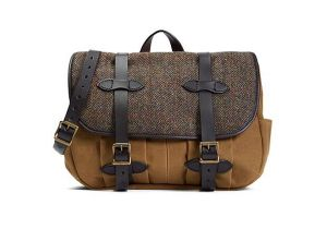 Tweed Fabric Canvas Messenger Bag Sh-16051068 pictures & photos