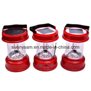 Handy Rechargeable LED Solar Camping Light pictures & photos