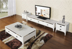 High Gloss TV Stand with Drawer (DS-193) pictures & photos