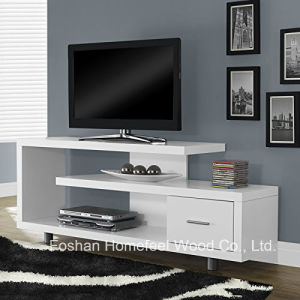 Living Room Fashion Design Wooden White TV Cabinet (HF-TVS17) pictures & photos