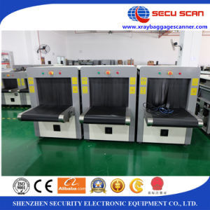 Xray Baggage Scanner with Medium Tunnel Size Suite for Railway Station and Bus Station pictures & photos