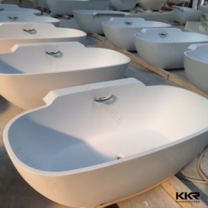 China Wholesale Acrylic Solid Surface Sanitary Ware Freestanding Bathtub pictures & photos