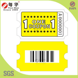 2016 Offer OEM Game Machine Tickets, Ticket for Arcade Game pictures & photos