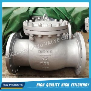 DIN Pn16 Dn600 Carbon Steel Swing Check Valve pictures & photos
