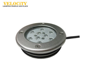 Outdoor Stainless Steel Wall Mounted LED Underwater Light RGB IP68 Fountain Pool
