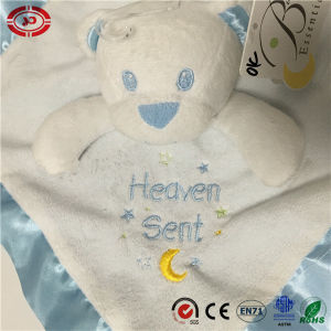 Blue Bear Infant Gift Soft Set Blanket for Baby pictures & photos