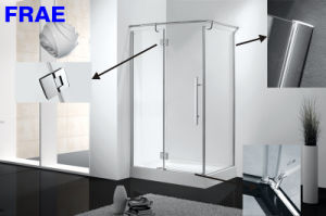 2017 Square Shower Enclosure Frameless Shower Cabin Simple Shower Room Sanitary Ware pictures & photos