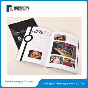 Art Paper Catalogue Printing with Oil Coated pictures & photos