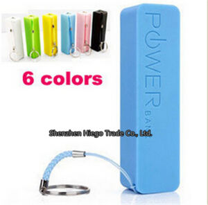 2015 Hot Sell 2600mAh Portable Mobile Power Bank pictures & photos